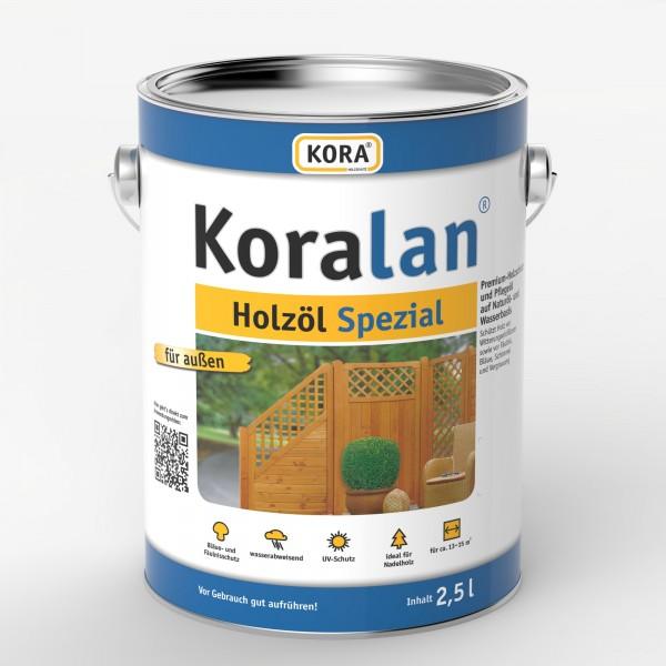 Koralan Holz Spezialöl für Terrassendielen